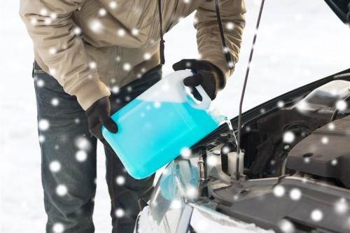 Scheibenfrostschutzmittel nicht vergessen!