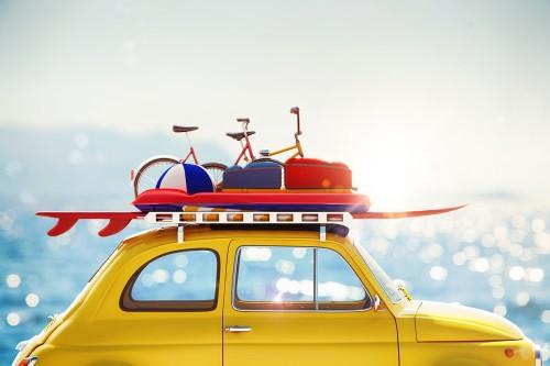 Das Autodach beladen – Transport von Surfbrett, Kanu und Co.