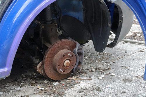 Wie gefährlich können verrostete Bremsbacken werden?