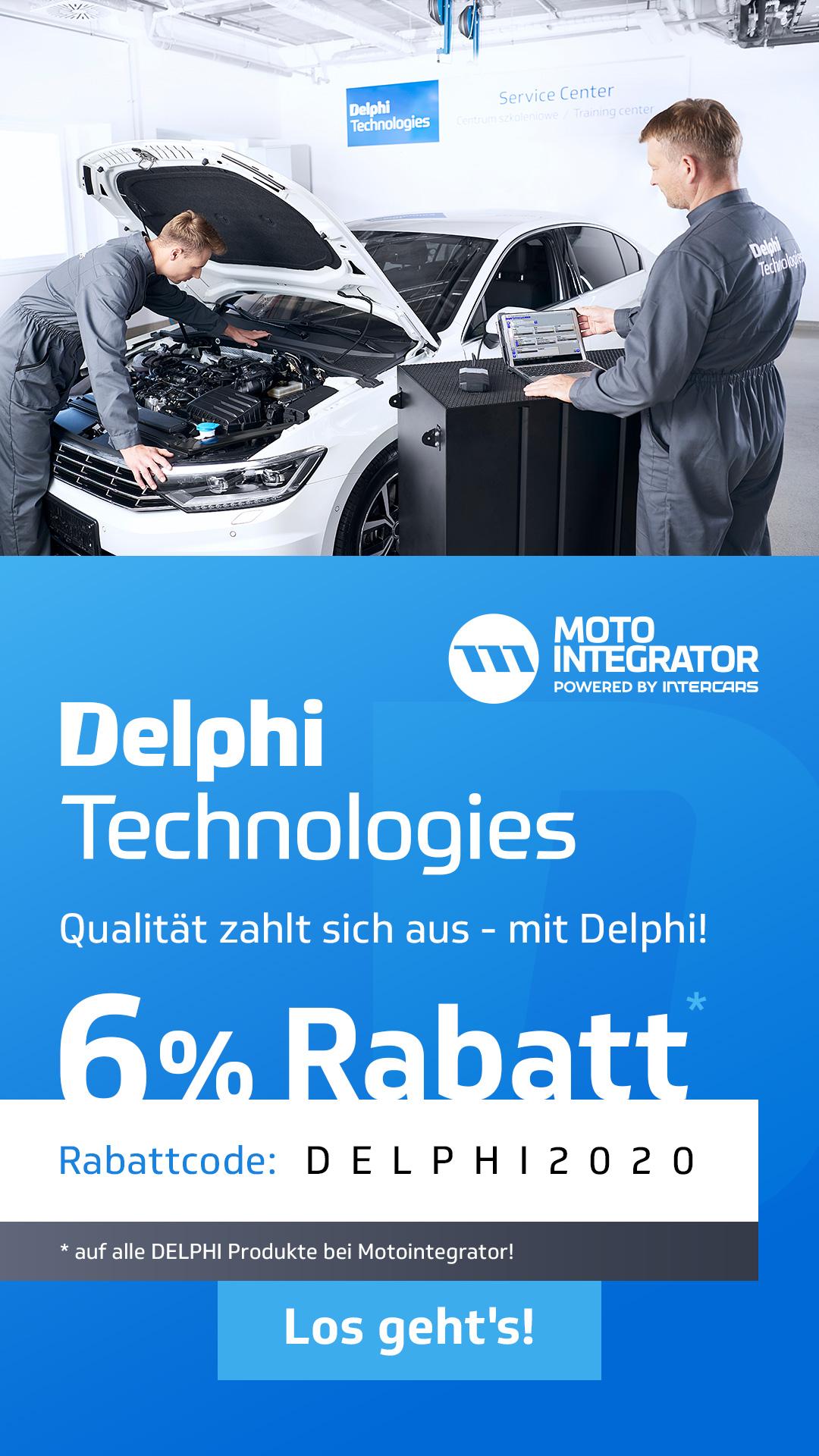 Delphi Promo Februar 2020