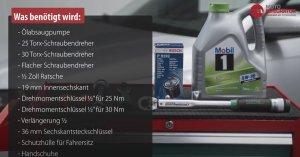 Werkzeug - Audi A3