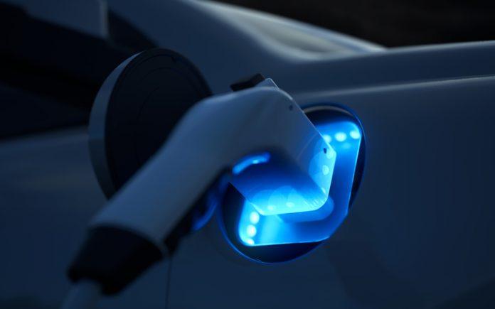 Hybridautos aufladen