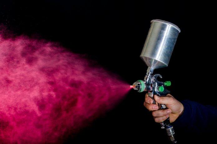 Spraydose - Auto lackieren