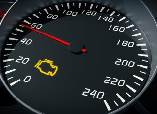 Motorkontrollleuchte