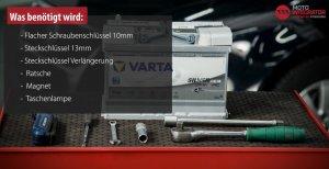 Werkzeug Batterie