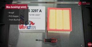 Luftfilter Fiat Grande Punto Werkzeuge