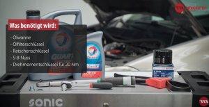 Ölfilter Werkzeuge